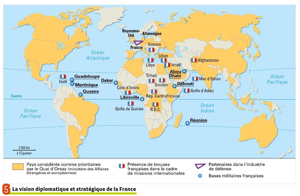 L Influence Francaise Dans Le Monde